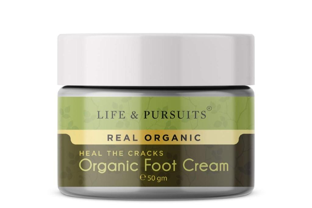 Life & Pursuits Organic Foot Cracks Healing Cream