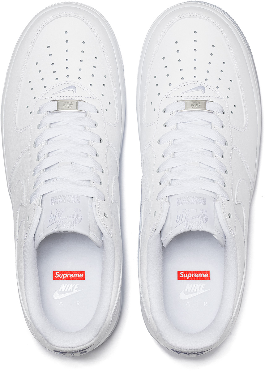 Supreme Unveiled Nike Air Force 1 Low