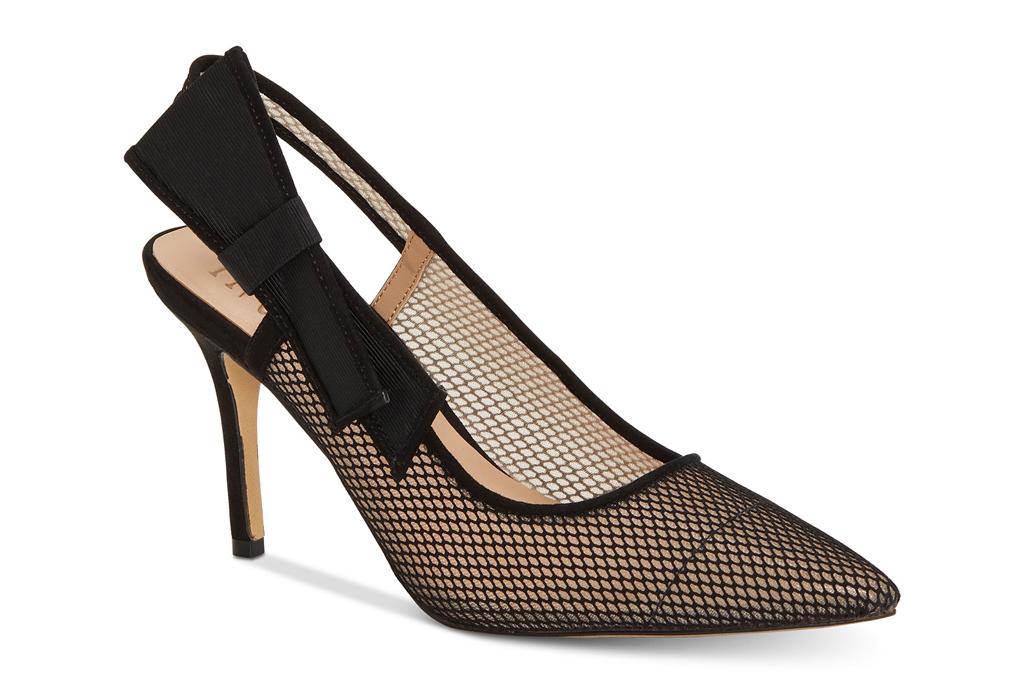 Macys, mesh heels