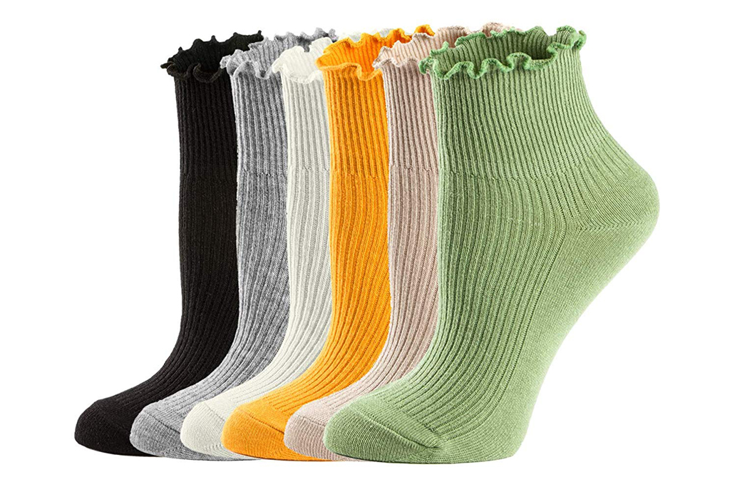 mcool mary ruffle socks