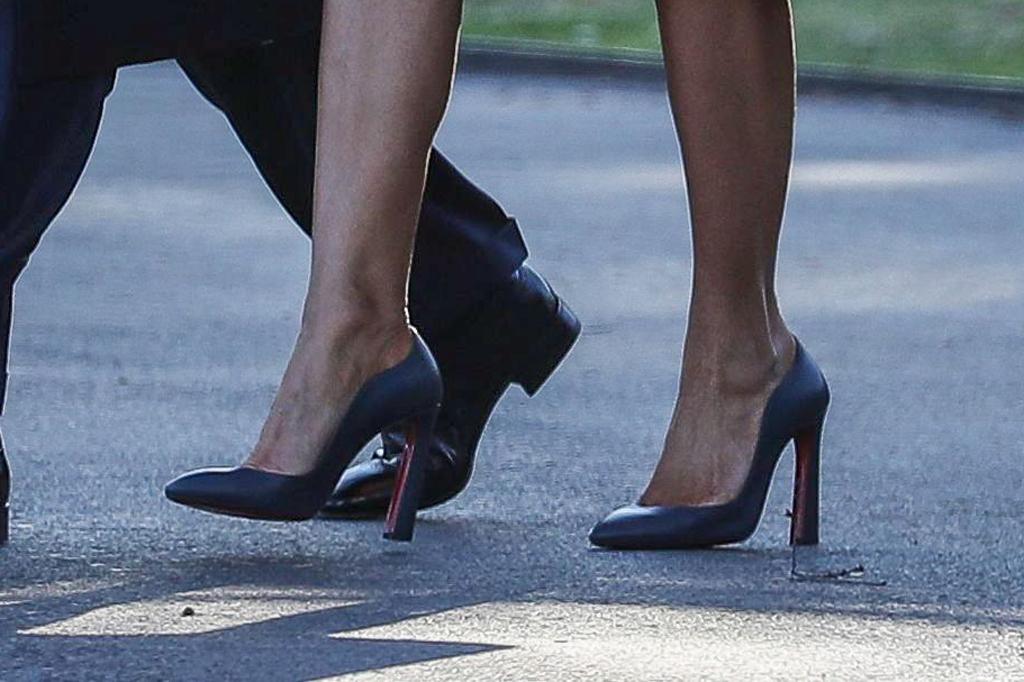 Melania Trump, christian louboutin, agneska, celebrity style, white house, flotus