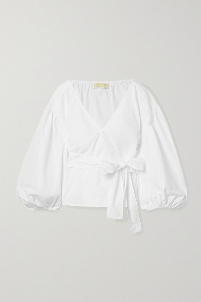 michael michael kors white blouse
