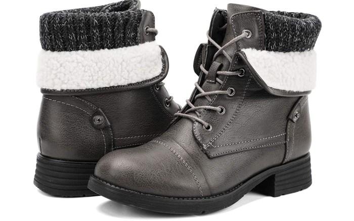 moda chics combat boots