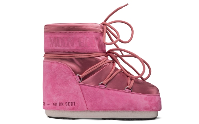 moon boot, boots, fall 2020, pink
