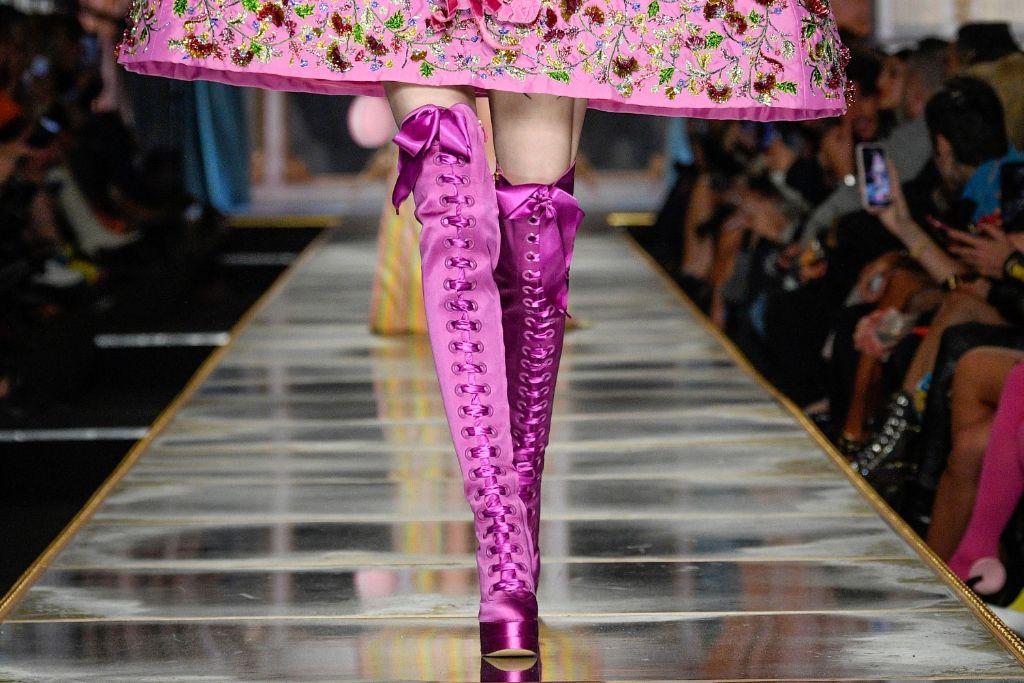 moschino fall 2020, milan fashion week