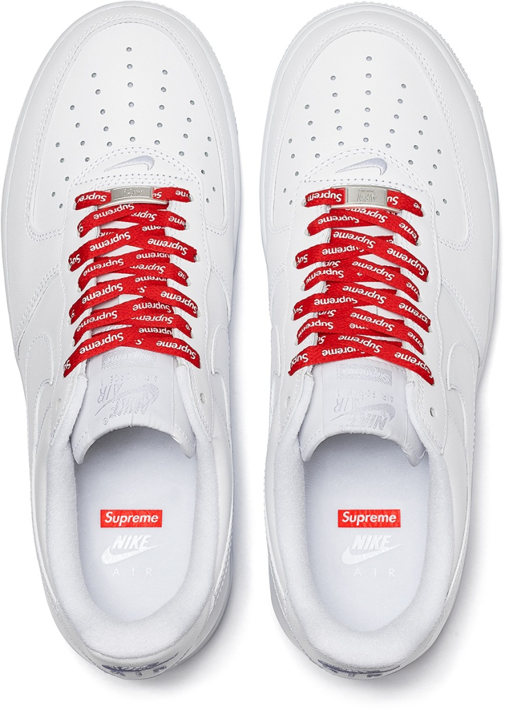 Supreme x Nike Air Force 1 Low White Spring/Summer 2020