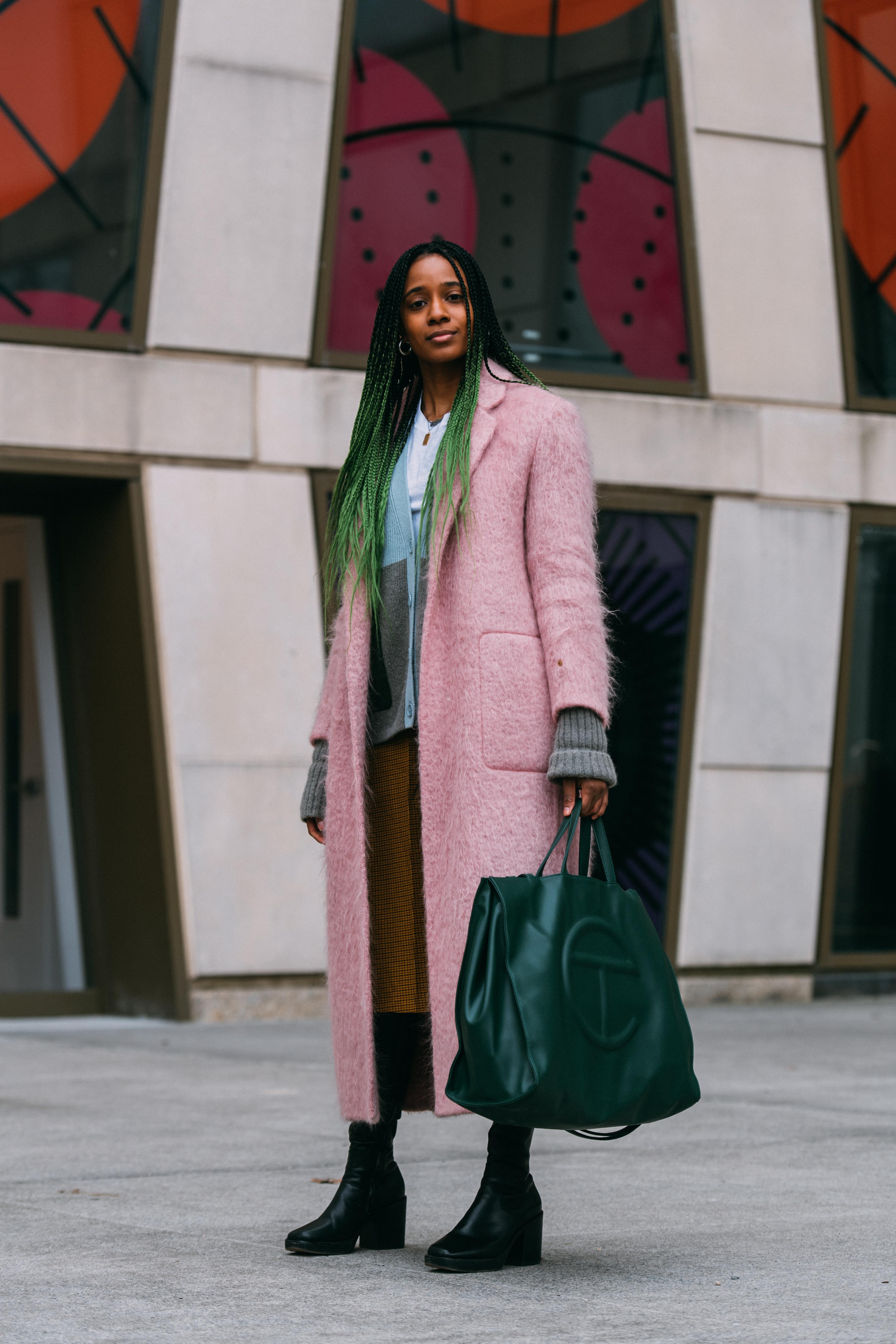 Naomi Elizee New York Fashion Week Street Style