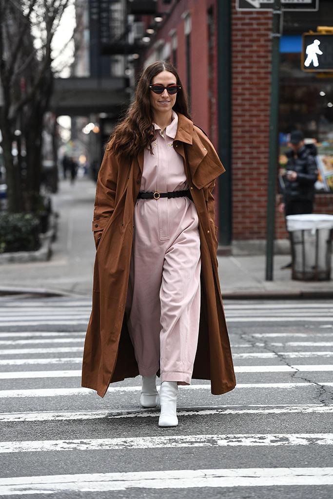 Erika Boldrin Street Style NYFW Fall 2020