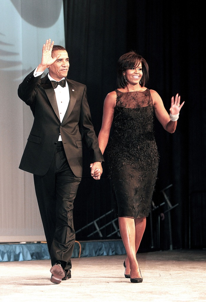 President Barack Obama and the First Lady Michelle ObamaCongressional Black Caucus Foundation's Annual Phoenix Awards Dinner, Washington DC, America - 26 Sep 2009