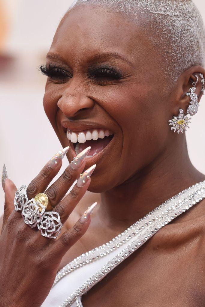 2020 oscars, jewelry trends, cynthia erivo