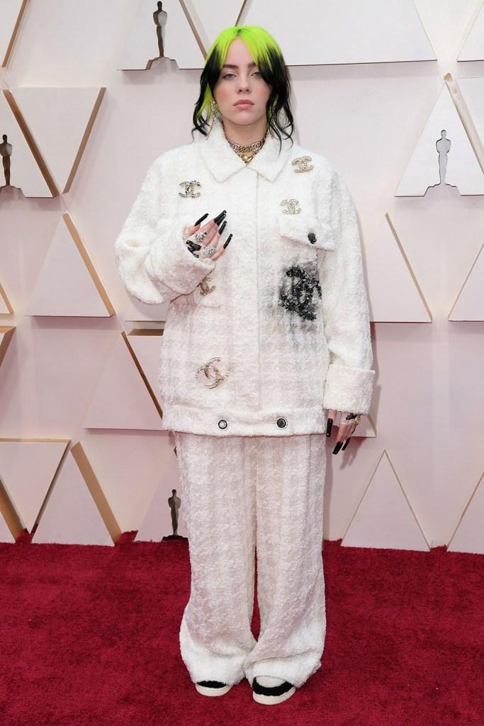 Billie Eilish92nd Annual Academy Awards, Arrivals, Fashion Highlights, Los Angeles, USA - 09 Feb 2020 Wearing Chanel