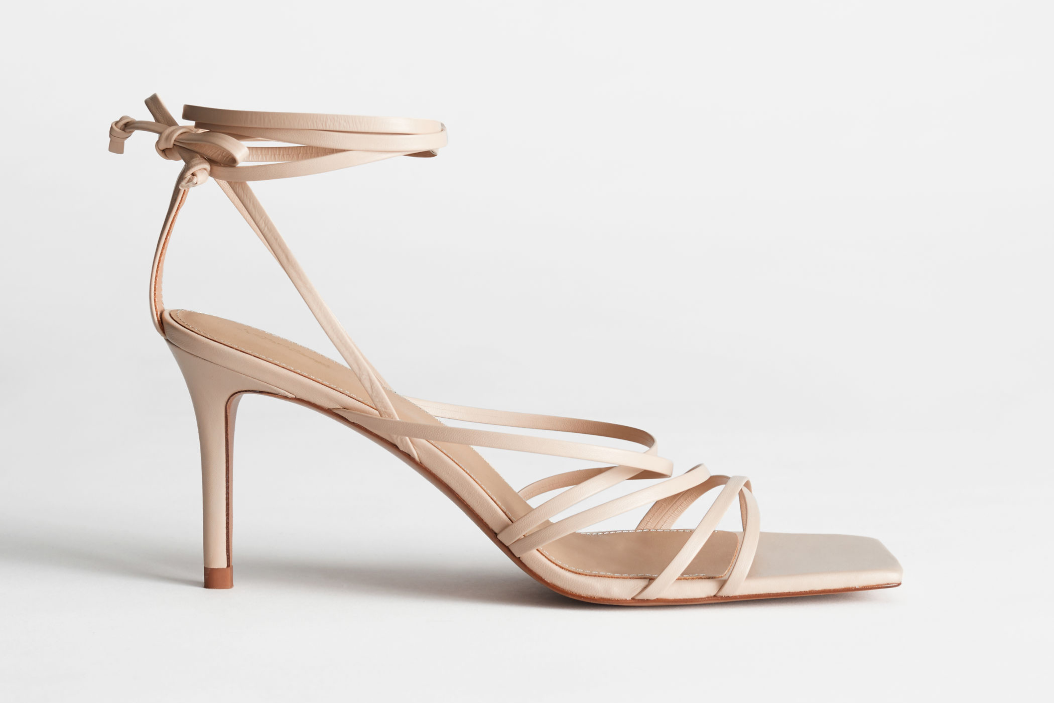 other-stories-leather-square-toe-sandals