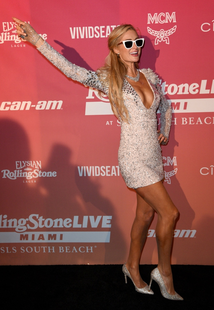 paris hilton, Rolling Stone Super Bowl LIV Party