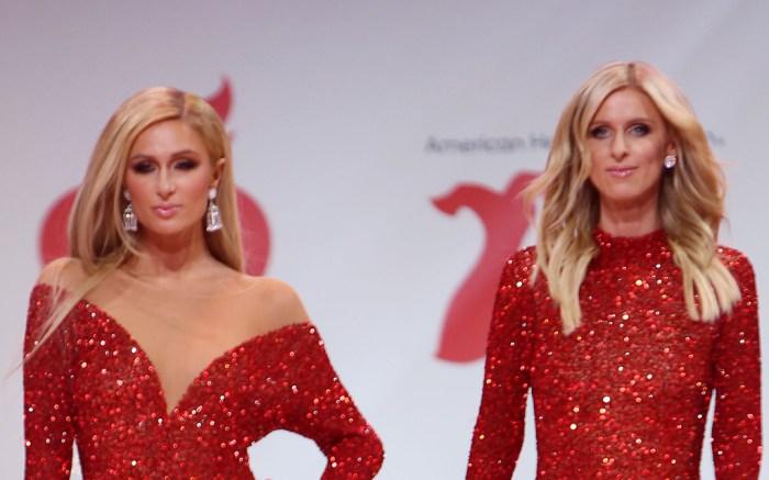 Nicky Hilton, paris hilton, runway, nyfw, celebrity style,