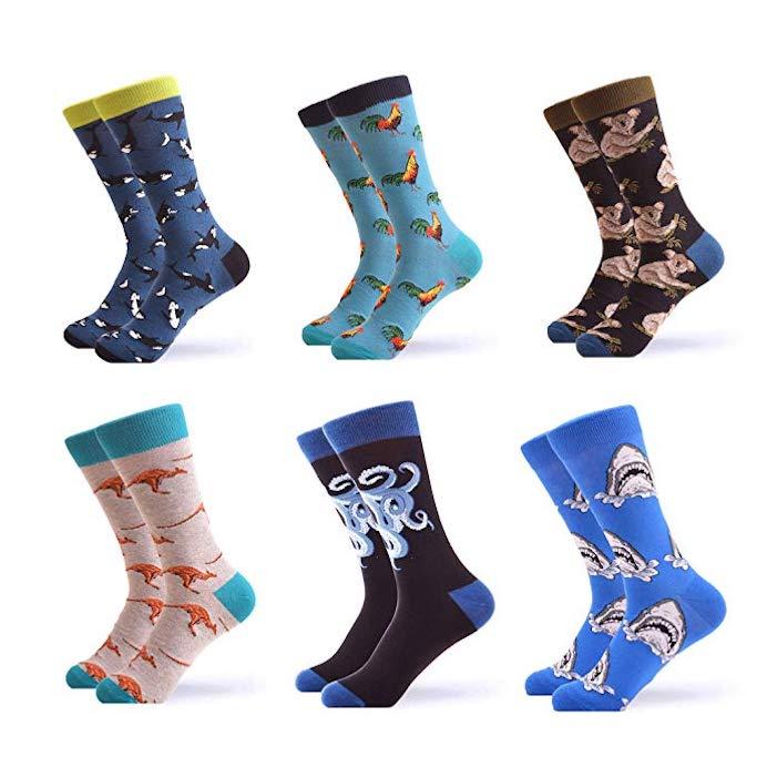 Patterned-Novelty-Socks