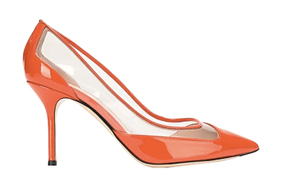 Pollini red pumps