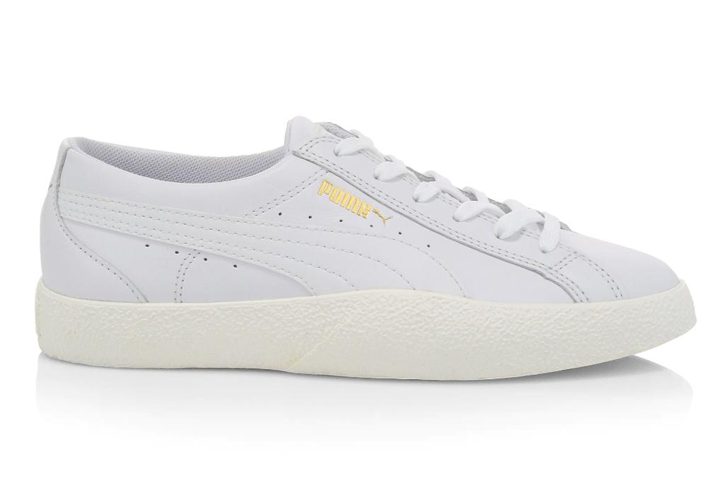 puma all white sneaker