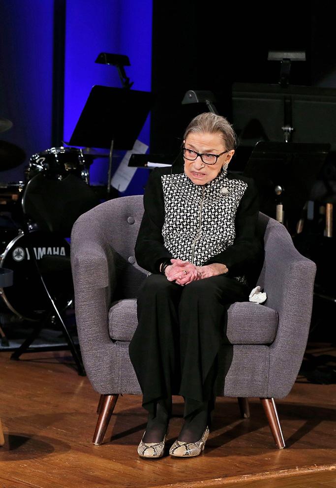 Ruth Bader Ginsburg, December 2019.