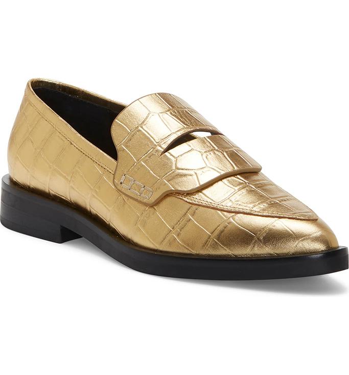 rebecca-minkoff-gold-loafers.jpeg