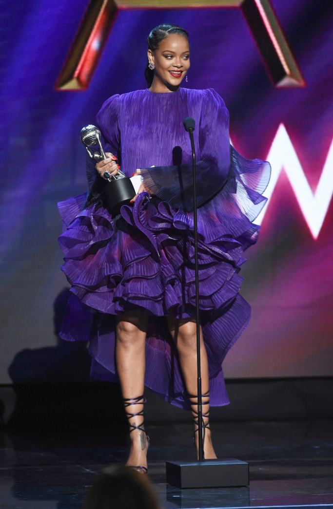 rihanna, givenchy spring 2020 couture, naacp awards
