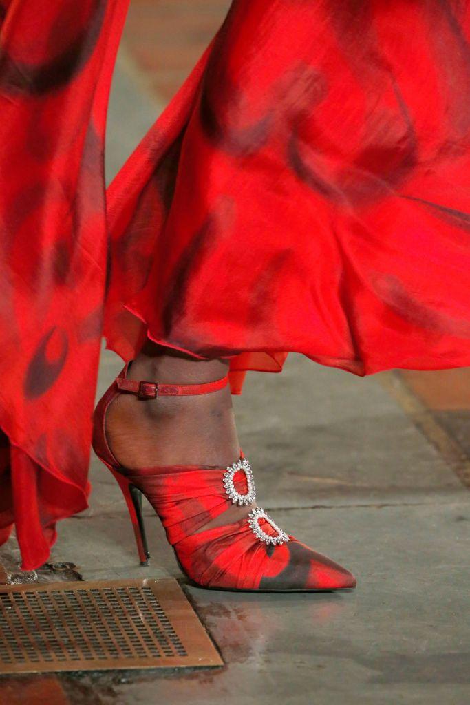 rodarte, fall 2020, nyfw, shoes