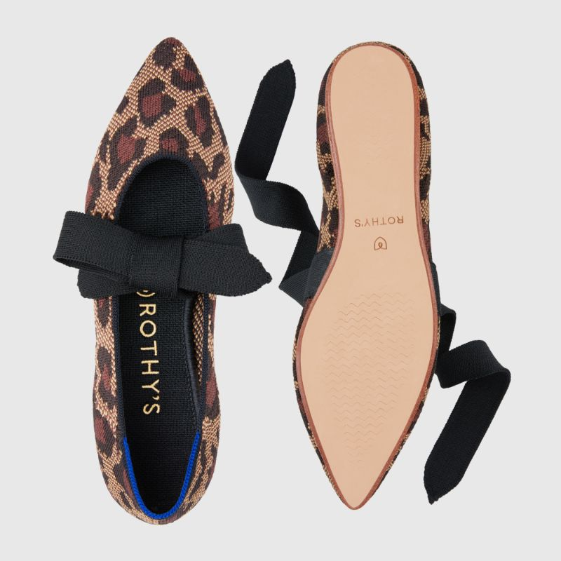 Rothy's Mary Jane flats in Wildcat
