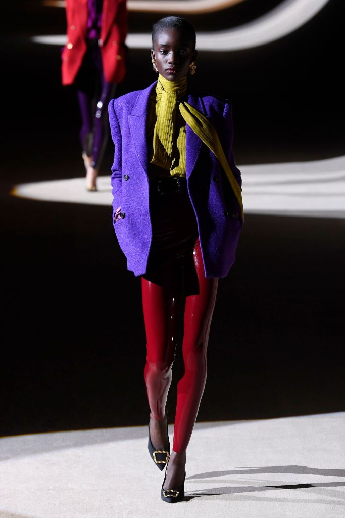 saint laurent, fall 2020, paris fashion week