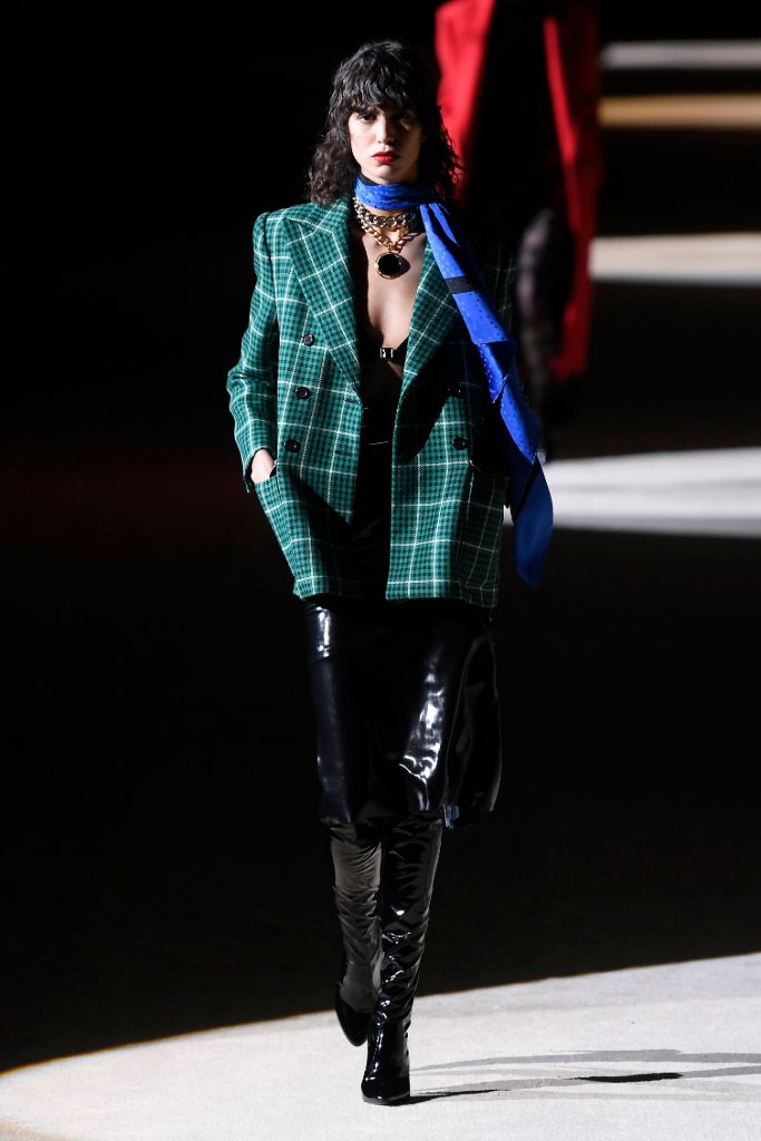 saint laurent, fall 2020, paris fashion week