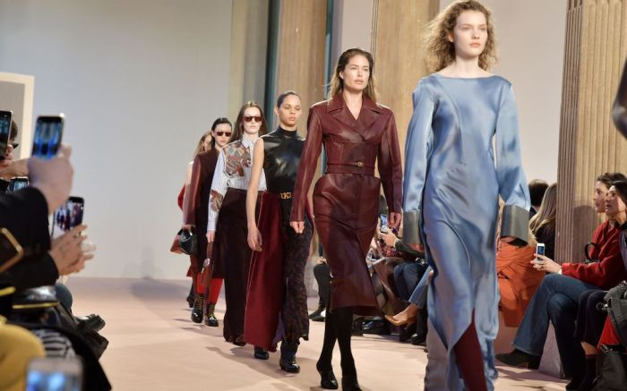 Salvatore Ferragamo show, Runway, Fall Winter 2020, Milan Fashion Week, Italy - 22 Feb 2020