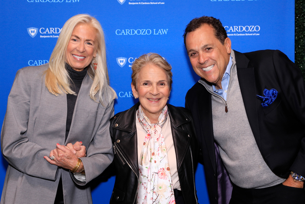 Barbara Kolsun, the moderator and director of Cardozo Law School's FAME Center, sam edelman, cardozo, libby edelman