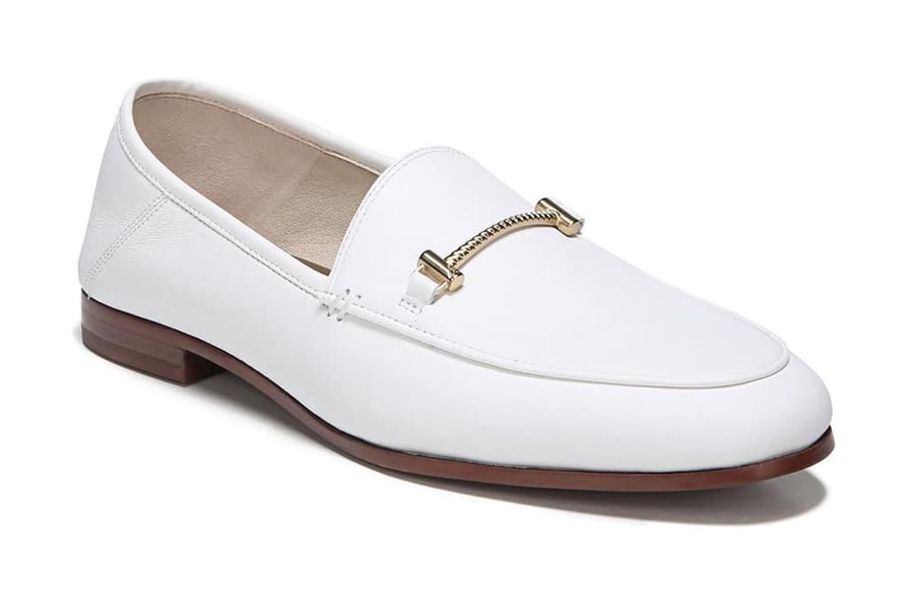 sam edelman white loafers