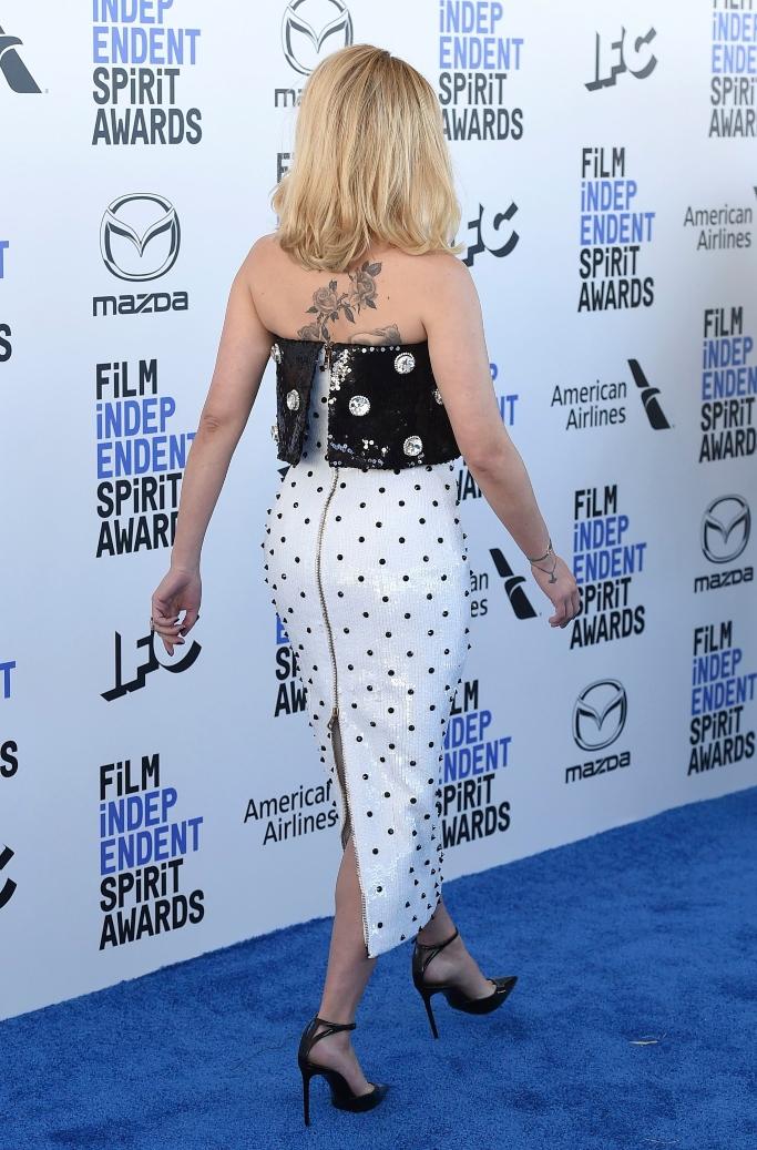 Scarlett Johansson tattoo, independent spirit awards 2020