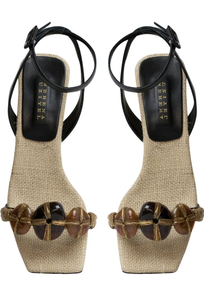 serena uziyel, spring 2020, sandals