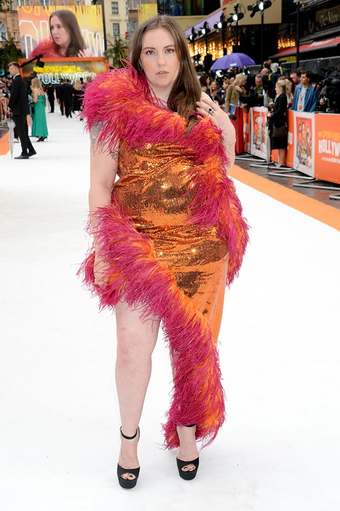 Lena Dunham wears 16 Arlington