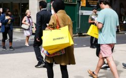 london, shopping, retail sales