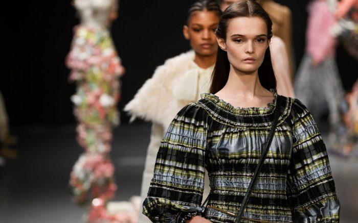 Models on catwalkTory Burch show, Runway, Fall Winter 2020, New York Fashion Week, USA - 09 Feb 2020