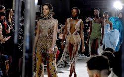 Models on the catwalkArea show, Runway,