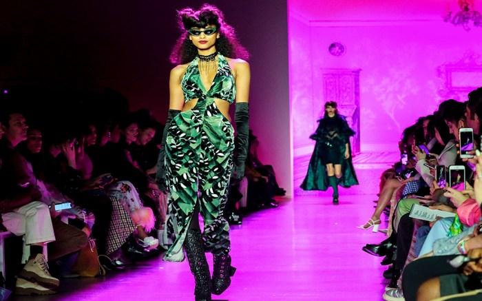 Fashion Anna Sui, New York, USA – 10 Feb 2020