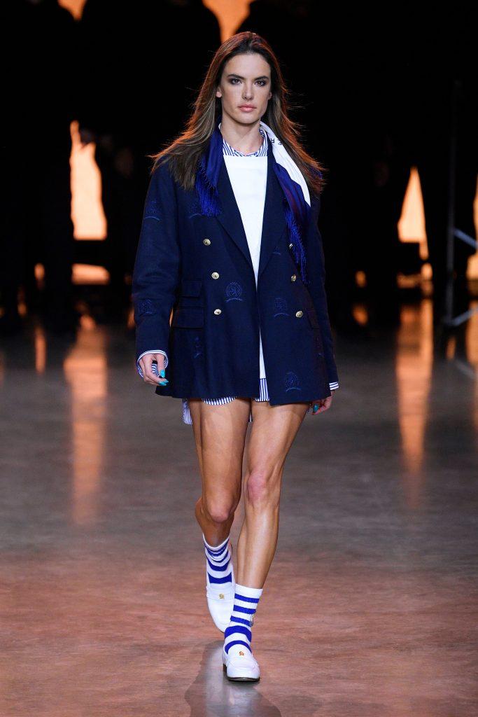 Alessandra Ambrosio on the catwalkTommy Hilfiger show, Runway, Fall Winter 2020, London Fashion Week, UK - 16 Feb 2020