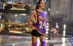 Olivia Culpo on the catwalkPhilipp Plein
