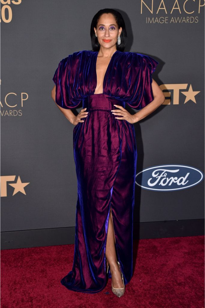 tracee ellis ross, naacp awards red carpet