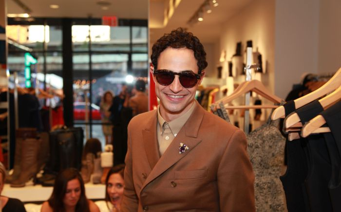 Fashion designer Zac Posen attends Scoop's Fashion's Night Out 2012 event at the Washington Street store.FNO New York 2012, New York
