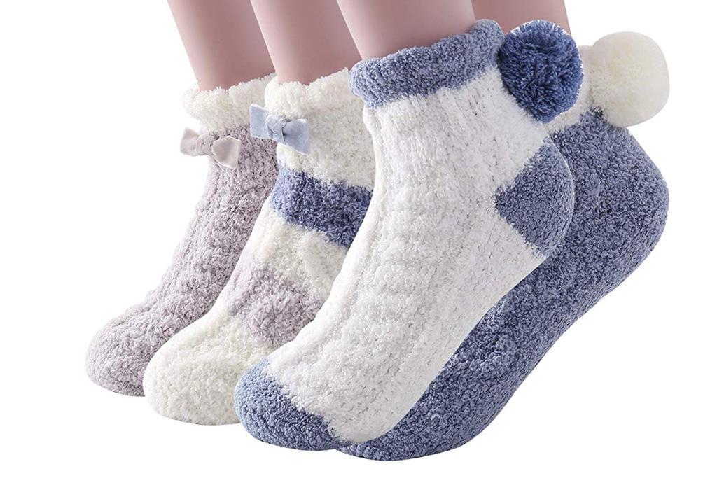 skola pom pom socks