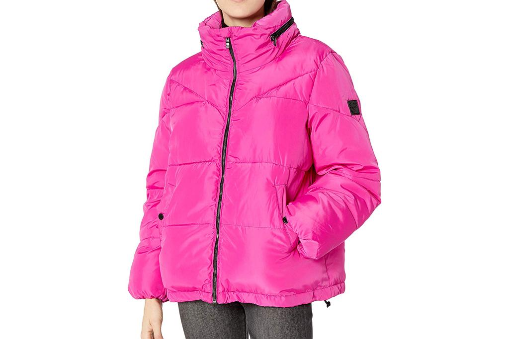 steve madden hot pink jacket
