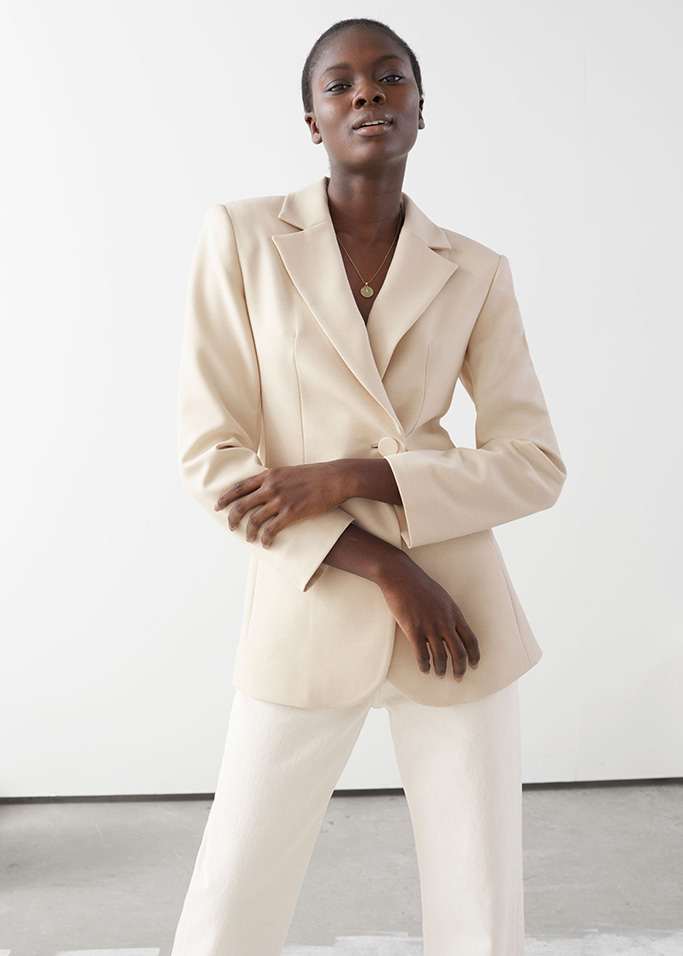 & Other Stories white blazer