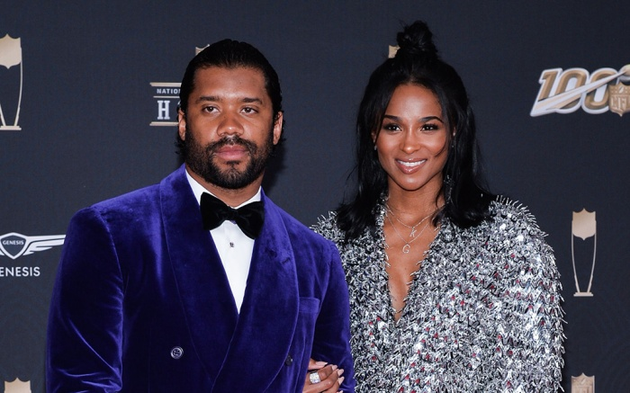 Russell Wilson and CiaraSuper Bowl LIV, NFL Honors, Arrivals, Miami, USA - 01 Feb 2020