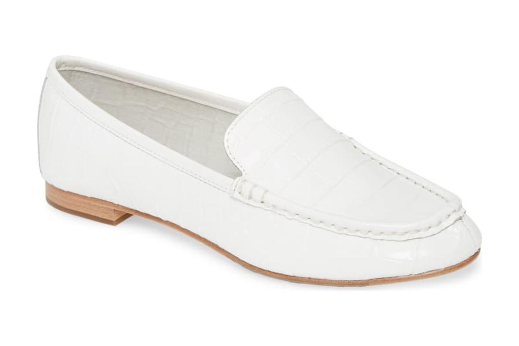 taryn rose white loafer