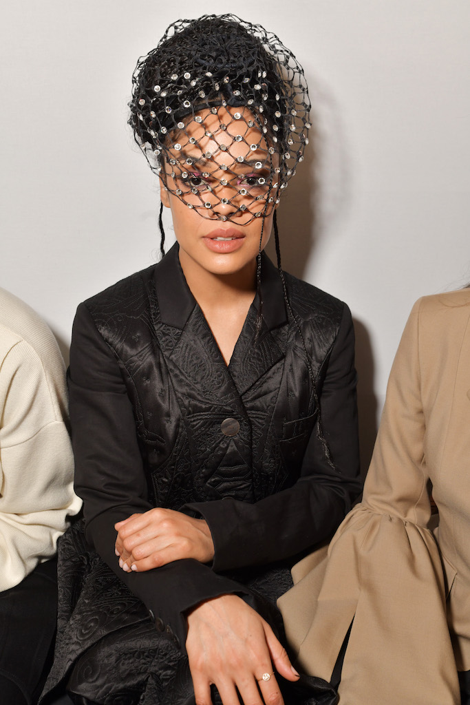Tessa Thompson in the front row Loewe show, Front Row, Fall Winter 2020, Paris Fashion Week, France - 28 Feb 2020