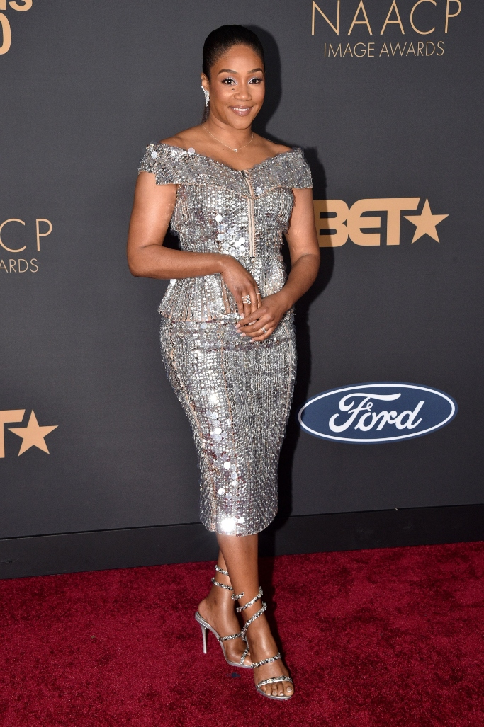 tiffany haddish, naacp awards, red carpet, best dressed