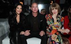 Lauren Sanchez, Jeff Bezos + Anna Wintour